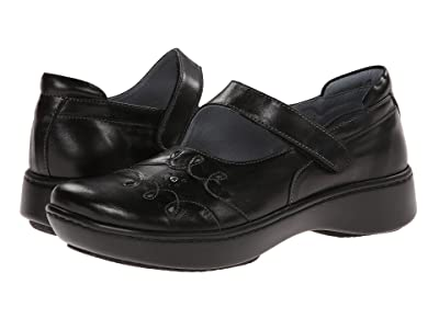 Naot Coast (Black Midnight Leather) Women