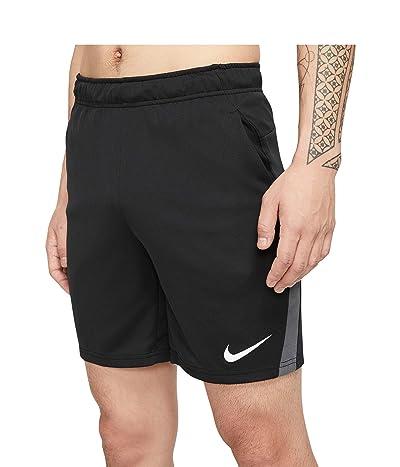 Nike Big Tall Dry Shorts 5.0 (Black/Iron Grey/White) Men