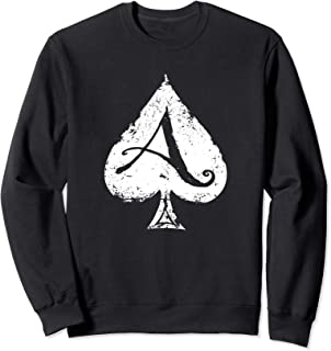 Ace of Spades-Gambling-Death Card Sweatshirt