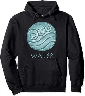 Avatar The Last Airbender Painted Water Element Pullover Hoodie
