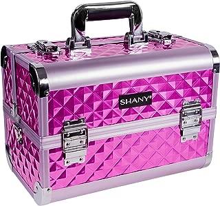 SHANY Premier Fantasy Collection Makeup Artists Cosmetics Train Case - Purple diamond