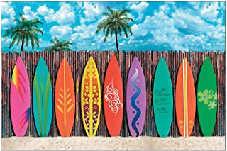 Fun Express Surfs Up Surfboard Backdrop Banner Set