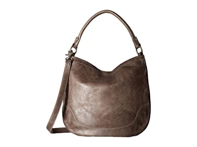 Frye Melissa Hobo (Ice Antique Pull Up) Hobo Handbags