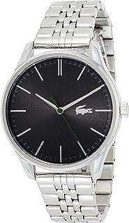 Lacoste Reloj Analógico para Hombre de Cuarzo con Correa en Acero Inoxidable 2011073