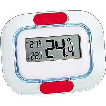 TFA Dostmann, termometro digitale frigo-congelatore, 30.1042, visualizzazione permanente dei valori massimo e minimo