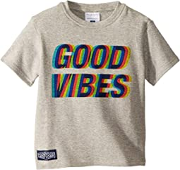 Good Vibes Short Sleeve Tee (Toddler/Little Kids/Big Kids)