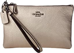 Metallic Small Wristlet