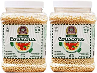 Original Couscous Natural Flavor Israeli Couscous, Natural Pearled Noodles for Salads, Soups & Side Dishes, Cooks in Minut...