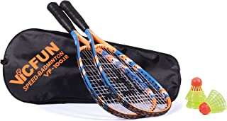 Vicfun Speed Badminton Set, Vicfun Speed Badminton Set of 100, Junior.