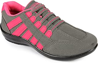 Gliders (from Liberty) Women's Gargi-01 Pink Track and Field Shoe