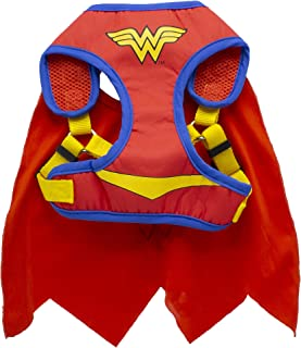 DC Comics Wonder Woman Harness for Dogs | Superhero Dog Harness | Harness for Small Dog Breeds