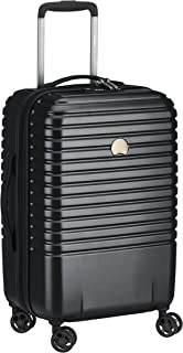 Delsey Caumartin Plus Cabin Luggage One Size Black