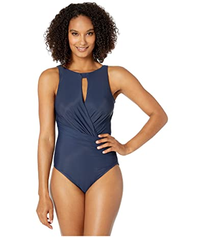 Miraclesuit Rock Solid Arden One-Piece (Midnight) Women