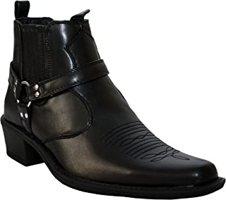 d2757afa356 Amazon.co.uk: Cowboy Boots - Boots / Men's Shoes: Shoes & Bags