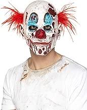 Smiffys Men's Zombie Clown Mask, Foam Latex