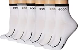 Ecco Socks - Anklet Cushion Socks w/ Tipping Logo - 6 pack