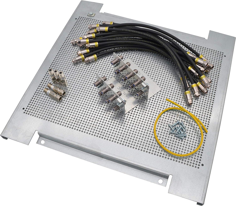 Maxx Online Sat Montage Set Für 5 In 8 Multischalter 1 Elektronik