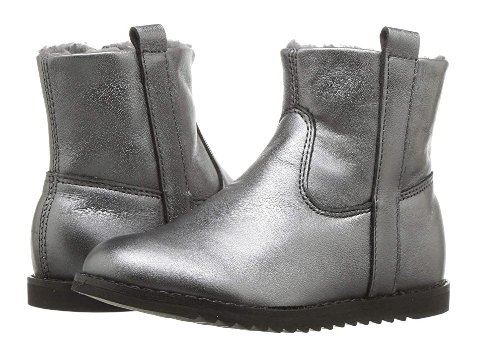 Old Soles Lounge Boot (Toddler/Little Kid) (Rich Silver/Dark Silver) Girl