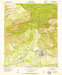 YellowMaps Fillmore CA topo map, 1:24000 Scale, 7.5 X 7.5 Minute, Historical, 1951, Updated 1953, 26.9 x 22 in