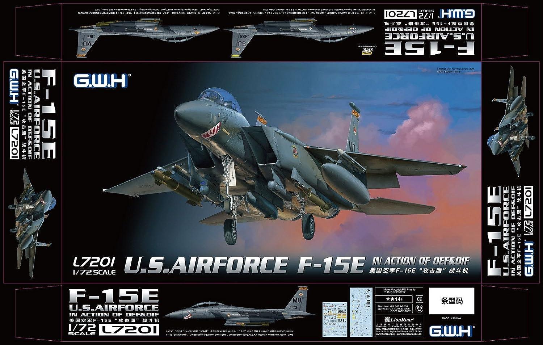 Lion Roar L7201 Modellbausatz USAF F-15E In Action of OEF & OIF B07234SKMQ Meistverkaufte weltweit  | Diversified In Packaging