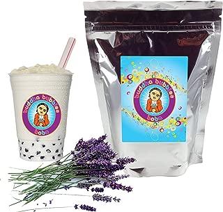 Lavender Boba / Bubble Tea Drink Mix Powder By Buddha Bubbles Boba 1 Kilo (2.2 Pounds)   (1000 Grams)