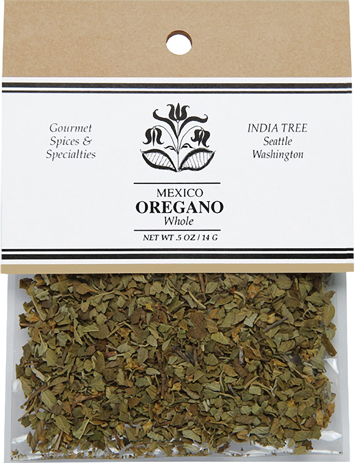 India Tree Mexican Oregano .5 6 Pack Houston Mall Year-end annual account oz of