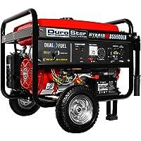 DuroStar DS5500EH 5500 Watt Dual Fuel (Hybrid) Portable Generator