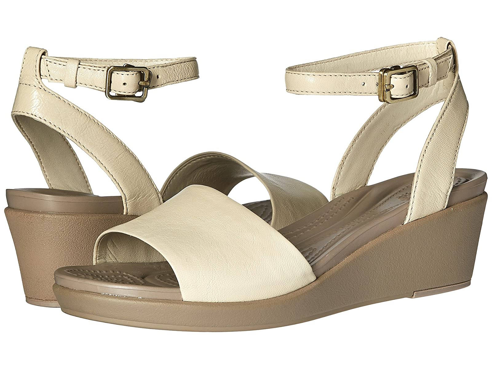 Crocs Leigh-Ann Ankle Strap LeatherCheap and distinctive eye-catching shoes