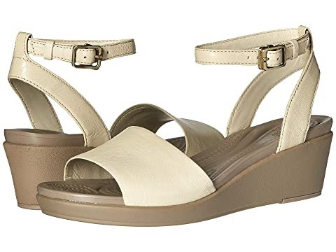 a47935cde826 Crocs Leigh-Ann Ankle Strap Leather at 6pm
