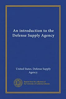 An introduction to the Defense Supply Agency