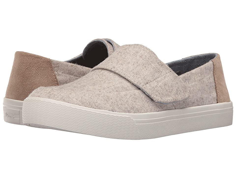 TOMS Altair Slip-On (Oatmeal Wool/Suede) Women