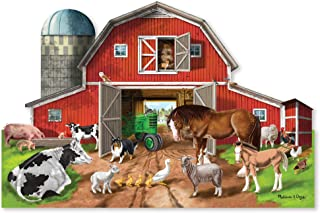 Best melissa and doug farm floor puzzle Reviews