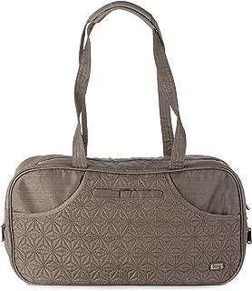 Lug Tugboat Carry-all Bag, Brushed Walnut Travel Shoulder Bag
