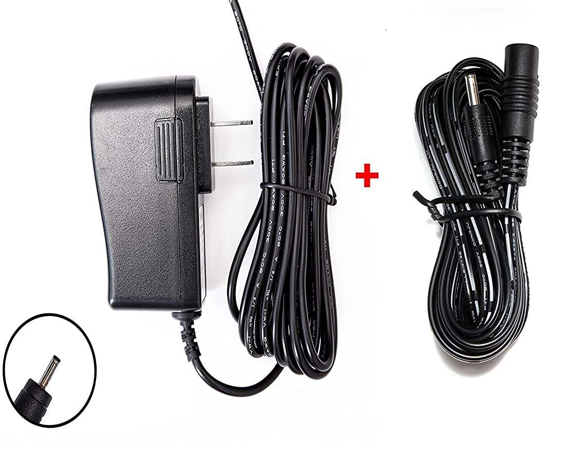 OMNIHIL 8FT AC/DC Power Adapter 10FT Extension Cord Compatible with Infant Optics DXR-5 DXR5 Digital Video Camera Monitor (Camera Unit)