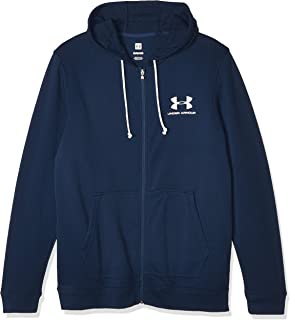 Under Armour Men's Sportstyle Terry Fz Jacket, Blue (Academy/White), Large
