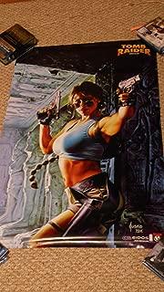 TOMB RAIDER Promo Poster 24x36 Out of Print ComicCon Poster Joe Jusko Artwork