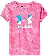 Under Armour Kids - Oasis Split Logo Short Sleeve (Little Kids)