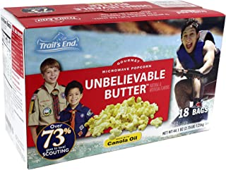 Unbelievable Butter Microwave Popcorn - Support Scouting