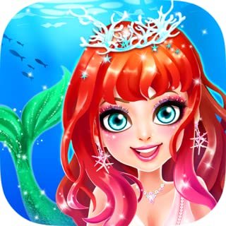 Mermaid Princess Love Story Dress Up & Salon Game