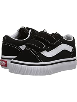 Boy's Vans Kids Black Shoes + FREE