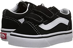 Black. 1129. Vans Kids. Old Skool V Core (Toddler) e731f2201