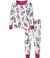 Hatley Kids - Happy Owls Pajama Set (Toddler/Little Kids/Big Kids)