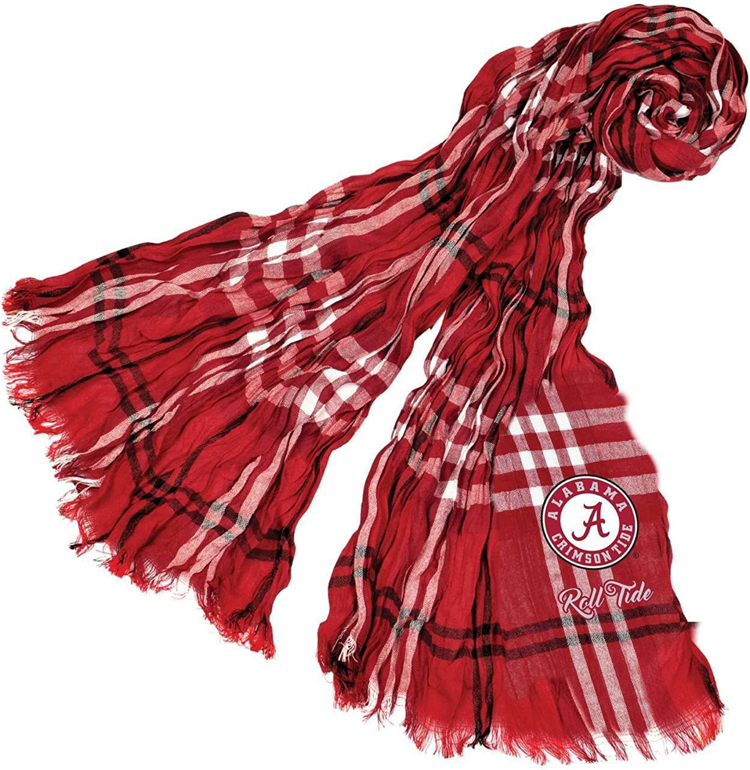Cheap Max 70% OFF mail order sales Littlearth NCAA Crinkle Plaid Scarf