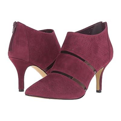 Bella-Vita Danica (Burgundy Kid Suede Leather) High Heels