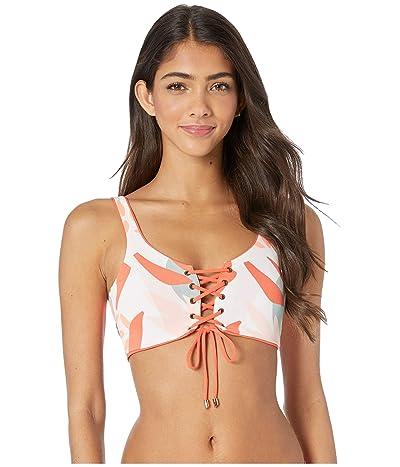 Maaji Mandarin Dazzling Four-Way Top (Mandarin Orange) Women