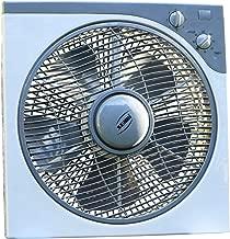 VORCOOL 12/V coche ventilador de refrigeraci/ón ventilador de refrigeraci/ón port/átil salpicadero oscilante Clip On para coche veh/ículo negro