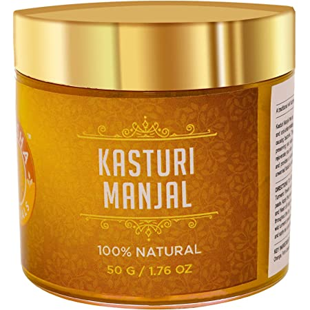 Shesha Ayurveda KASTURI MANJAL(Wild Turmeric Powder) 100% Natural Premium Quality.