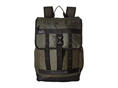 High Sierra Public Pak 2 (Olive/Black/Slate) Backpack Bags