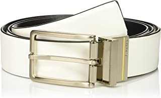 Calvin Klein Men's 35mm Reversible Smooth Leather to Self Belt