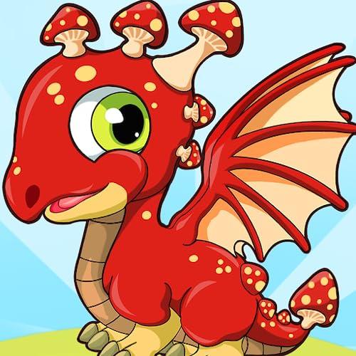 Magic Dragon Village - Fighting Breeding Fun Magic City Builder Free 2 Play Dragons Game